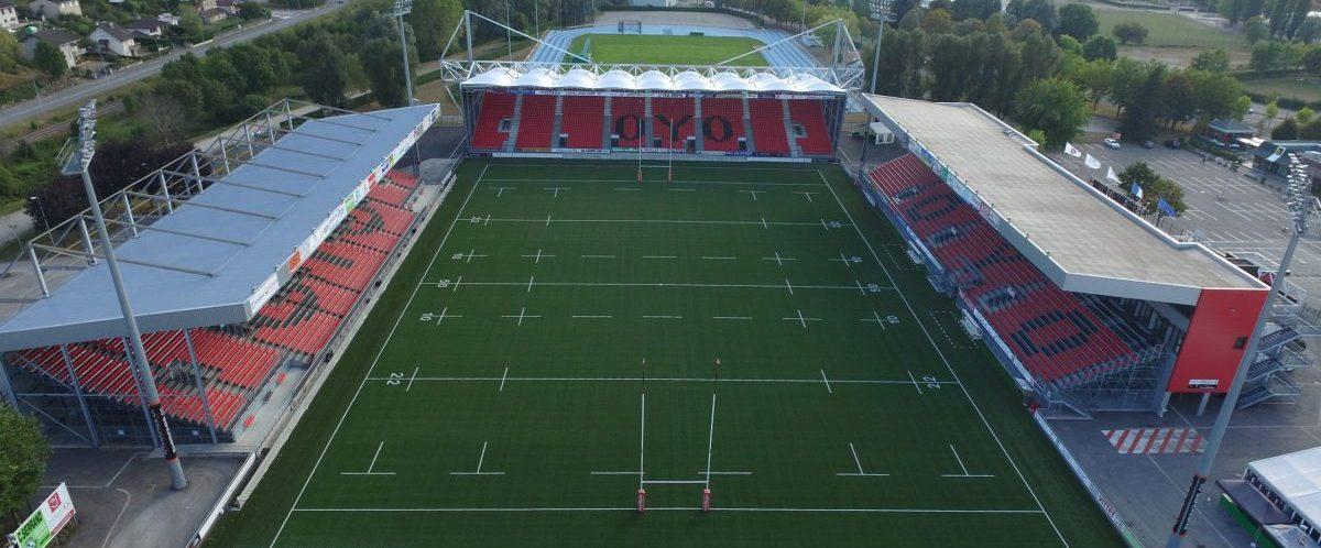 Image du Stade Charles Mathon à Oyonnac